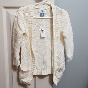 Old Navy Cream Cardigan Sweater 2T